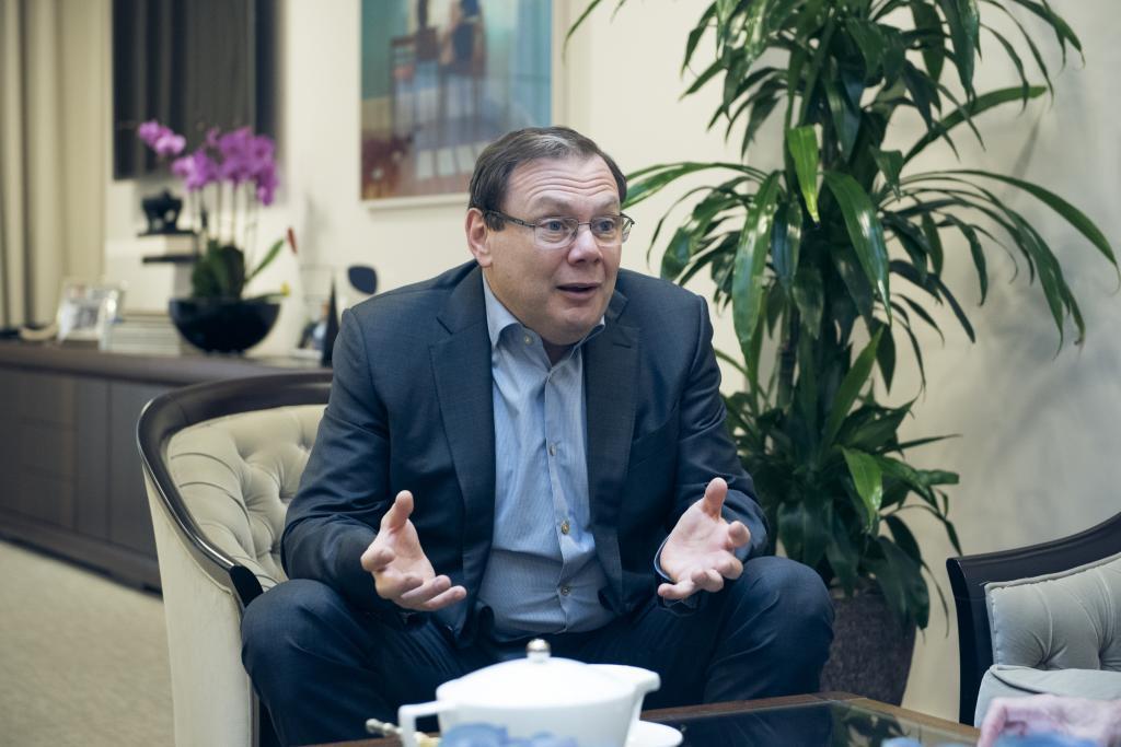 El empresario ruso y fundador de Letterone, Mijaíl Fridman