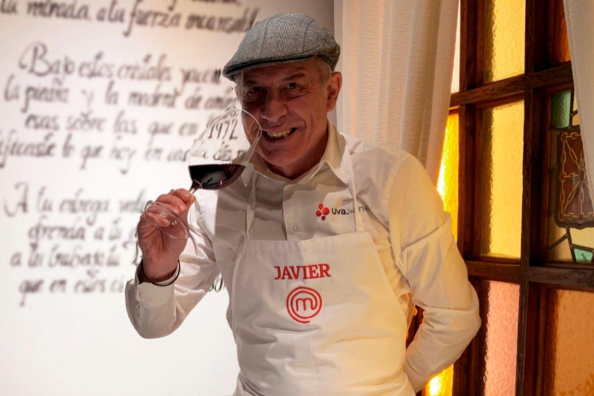 Javier Gila, el experto sumiller que ha seleccionado los vinos.