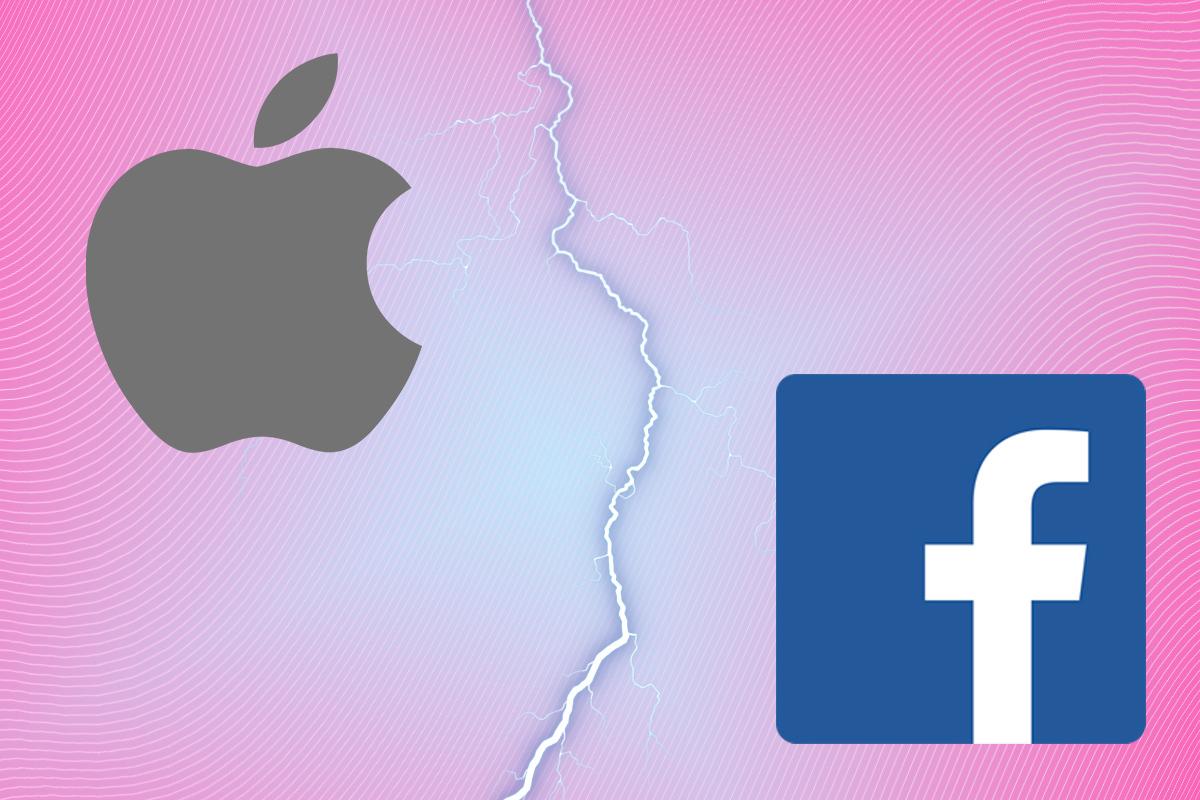 Apple y Facebook, en pie de guerra por tus datos