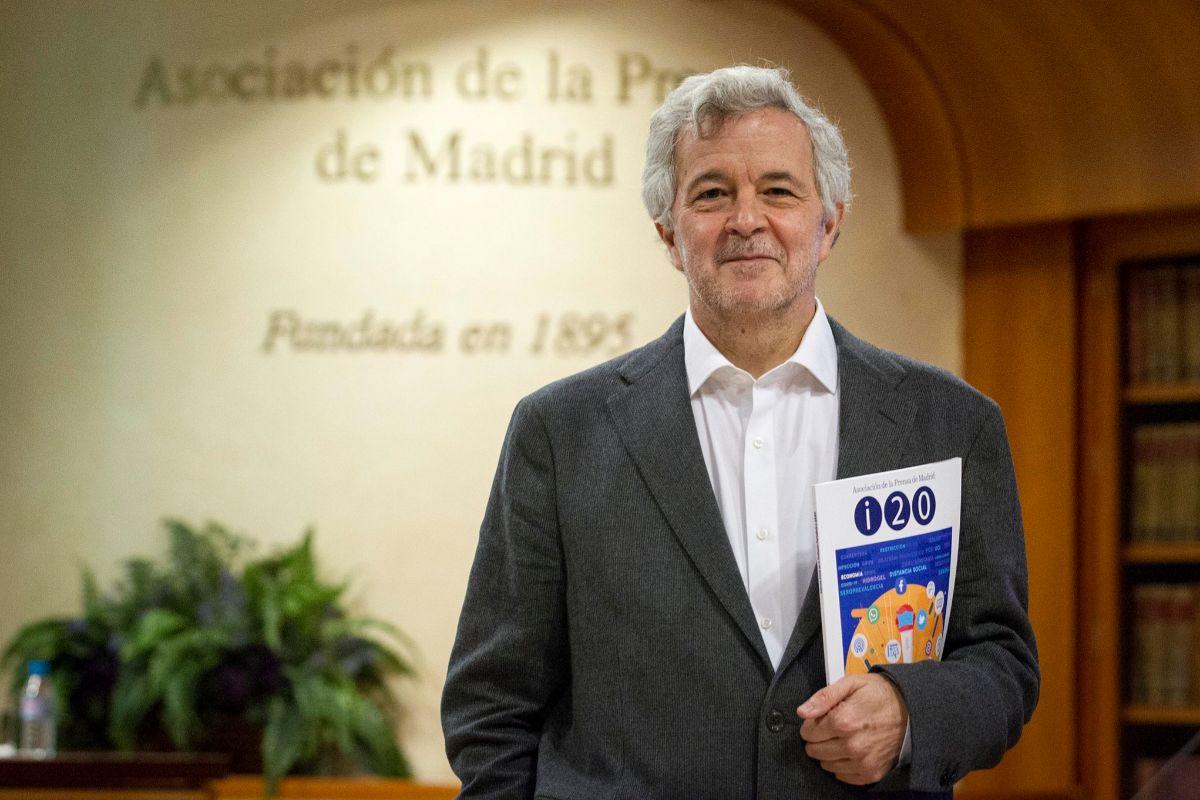Luis Palacio, autor del informe.