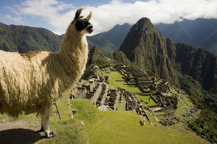 El yacimiento arqueológico de Macchu Picchu (Perú).