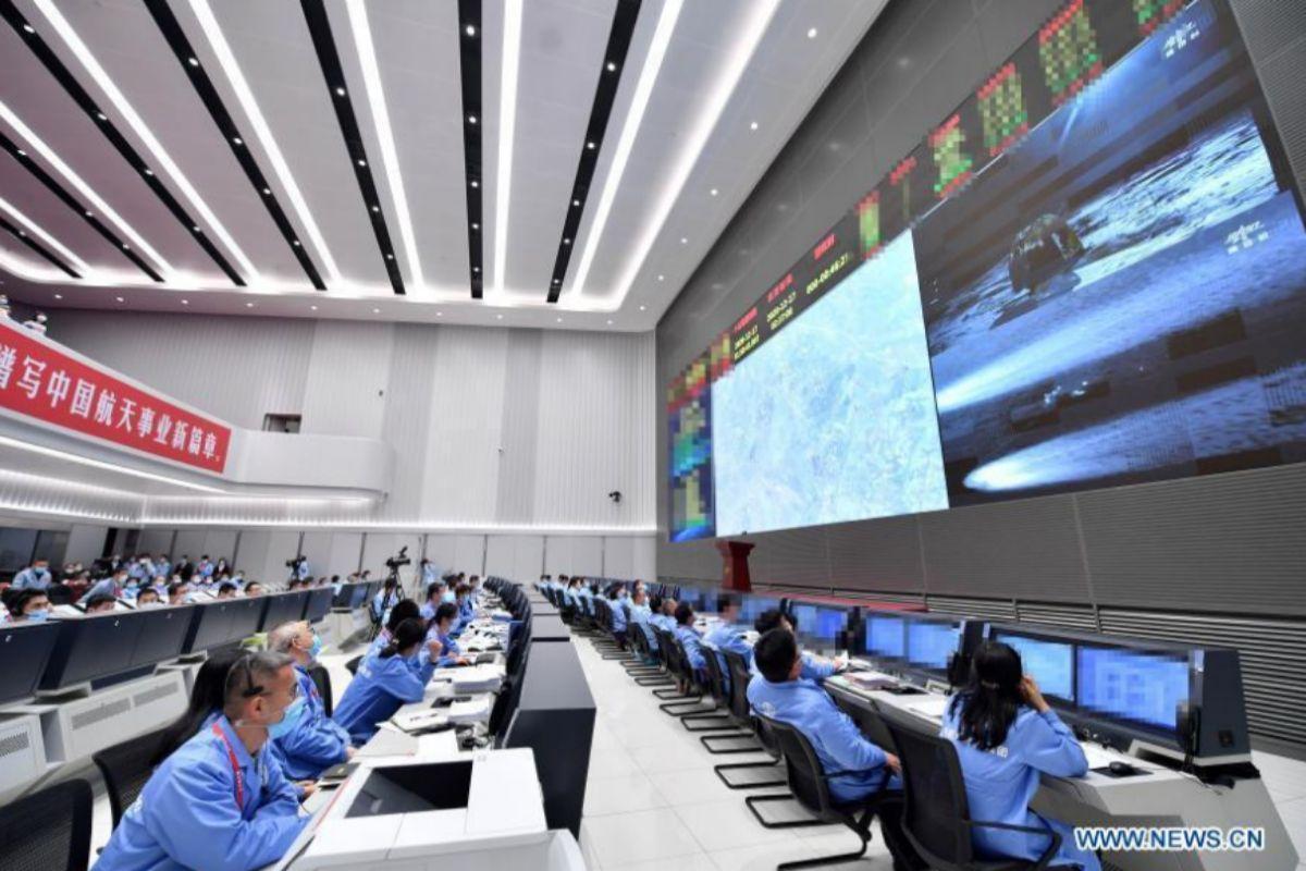 El centro de control de la CNSA