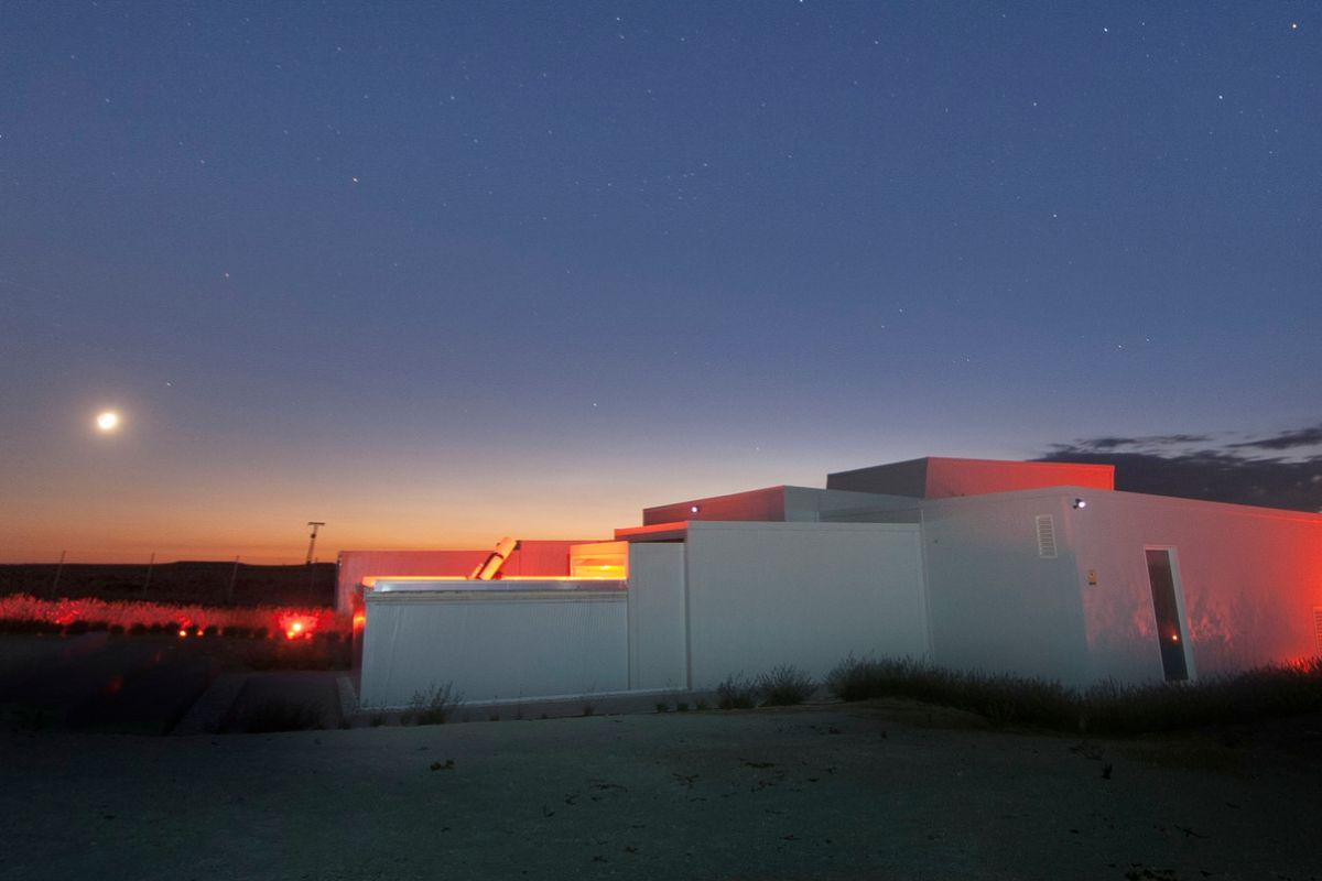 Observatorio de Tiedra (Valladolid).