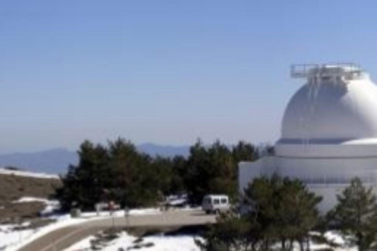 Observatorio Calar Alto (Almería).