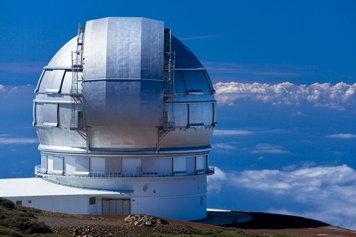 Observatorio Roque de los Muchachos (La Palma).