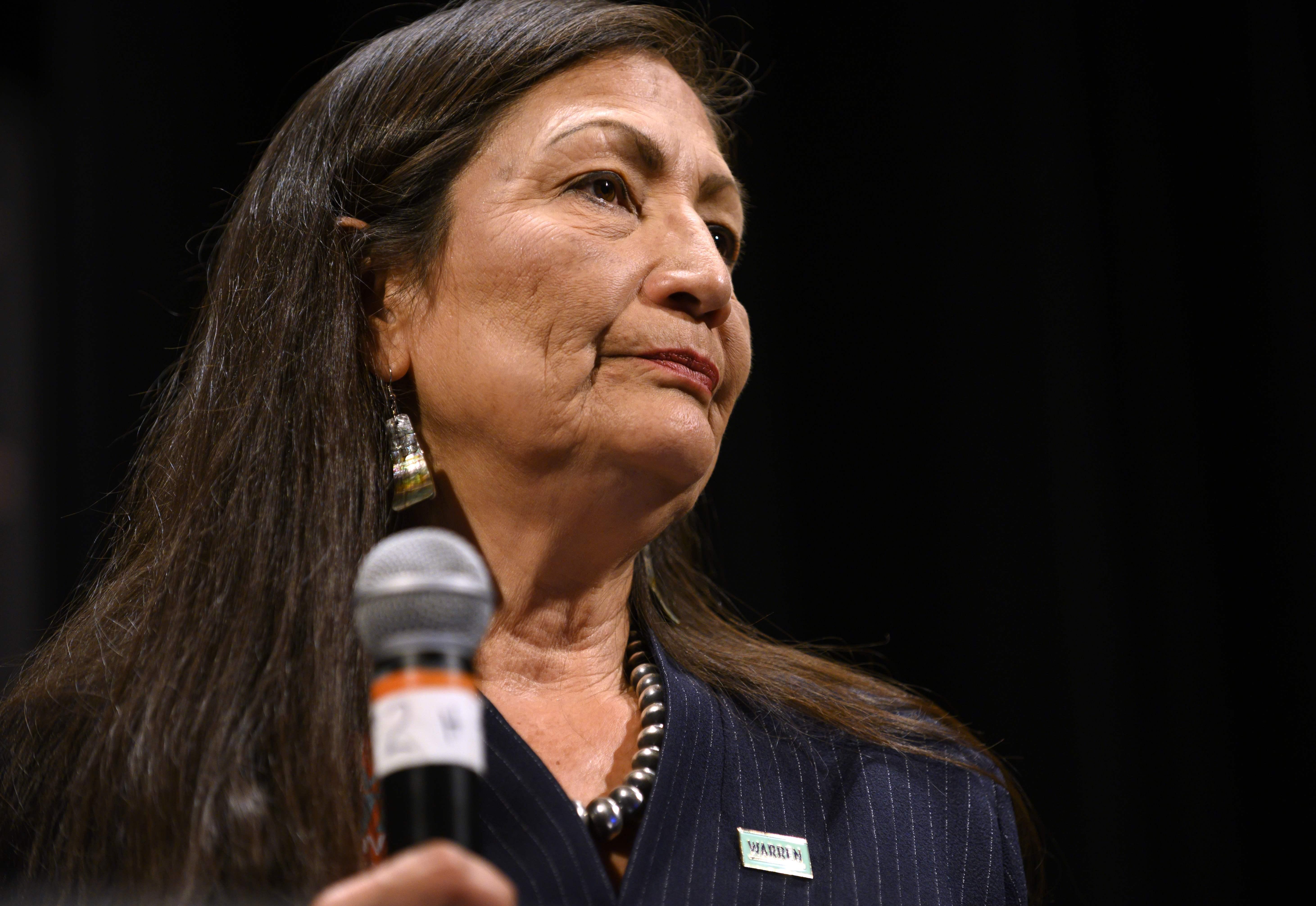 Deb Haaland, nominated by Biden for secretariat