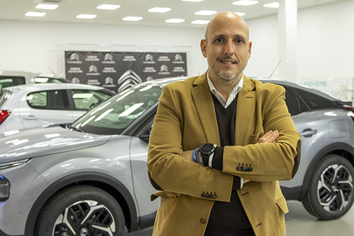 Arturo Cebrian, gerente de Garage Castellón