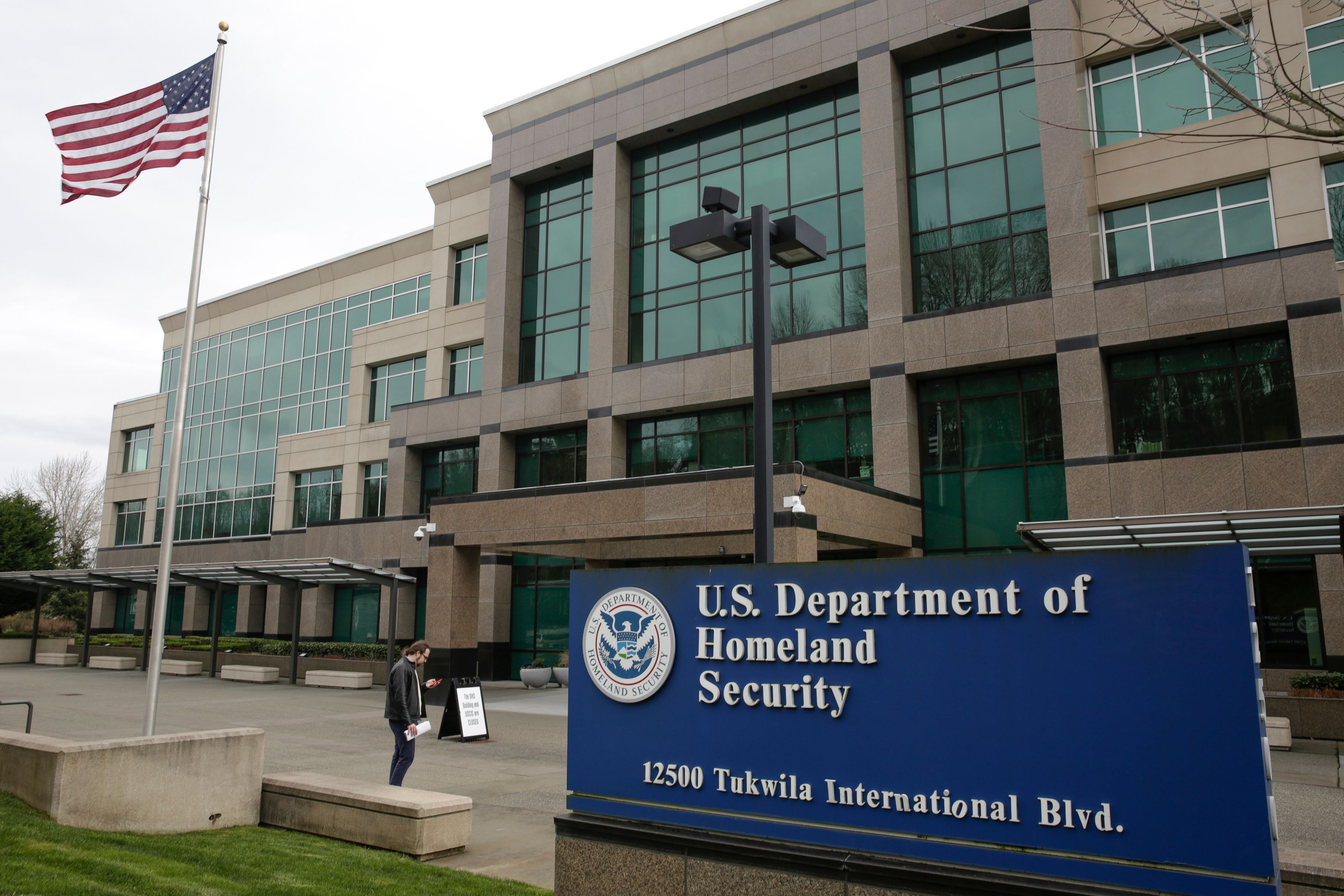 Departamento de Seguridad Interior de EEUU.