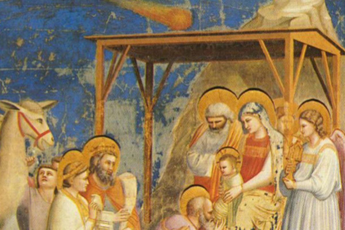 'La adoración de los Magos', de Giotto