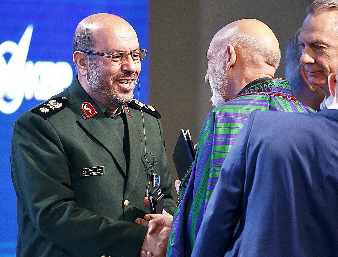 El ex ministro de Defensa iraní, Hossein Dehqan.