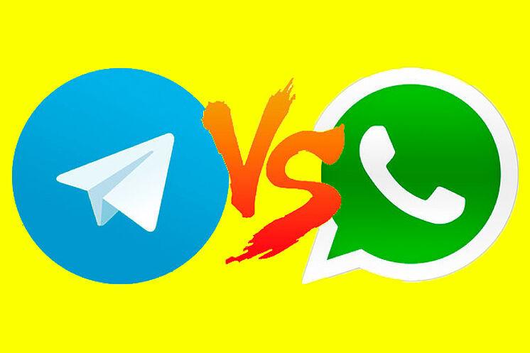 Telegram y WhatsApp llevan años disputándose en disputa por el liderazgo de las apps de mensajería instantánea.