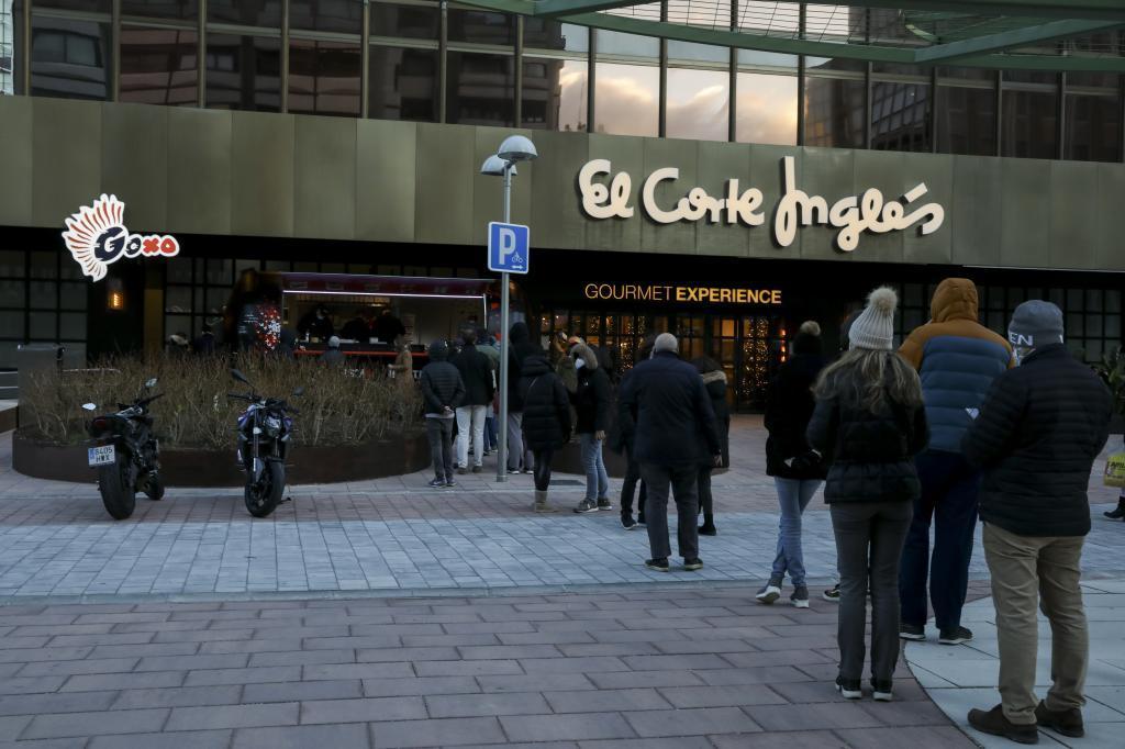 Centro comercial de El Corte Inglés en el Paseo de la Castellana