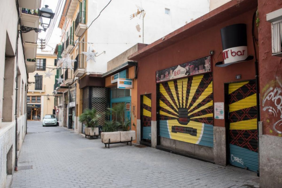 Hat Bar, en el centro de Palma.