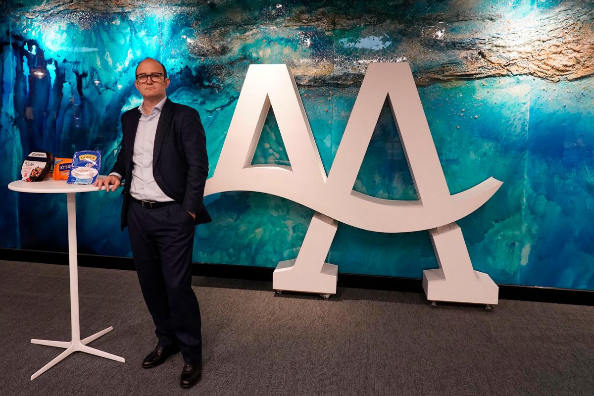 Ignacio Muñoz, CEO de Angulas Aguinaga