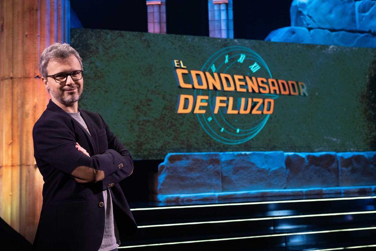 Gómez-Jurado es el presentador de 'El condensador de fluzo', en  La 2.