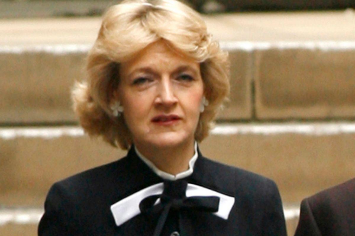 Lady Fiona Shackleton de Belgravia, en una imagen de 2008.