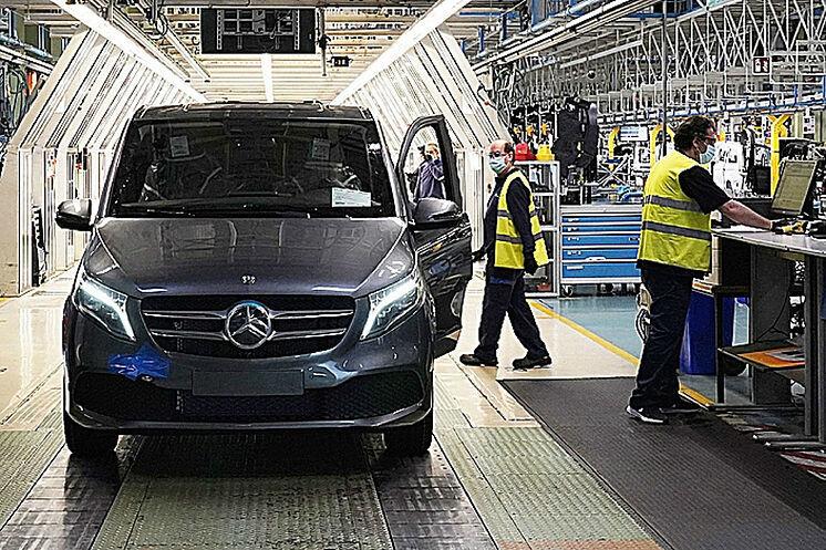 Mercedes-Benz Vitoria parará la semana que viene
