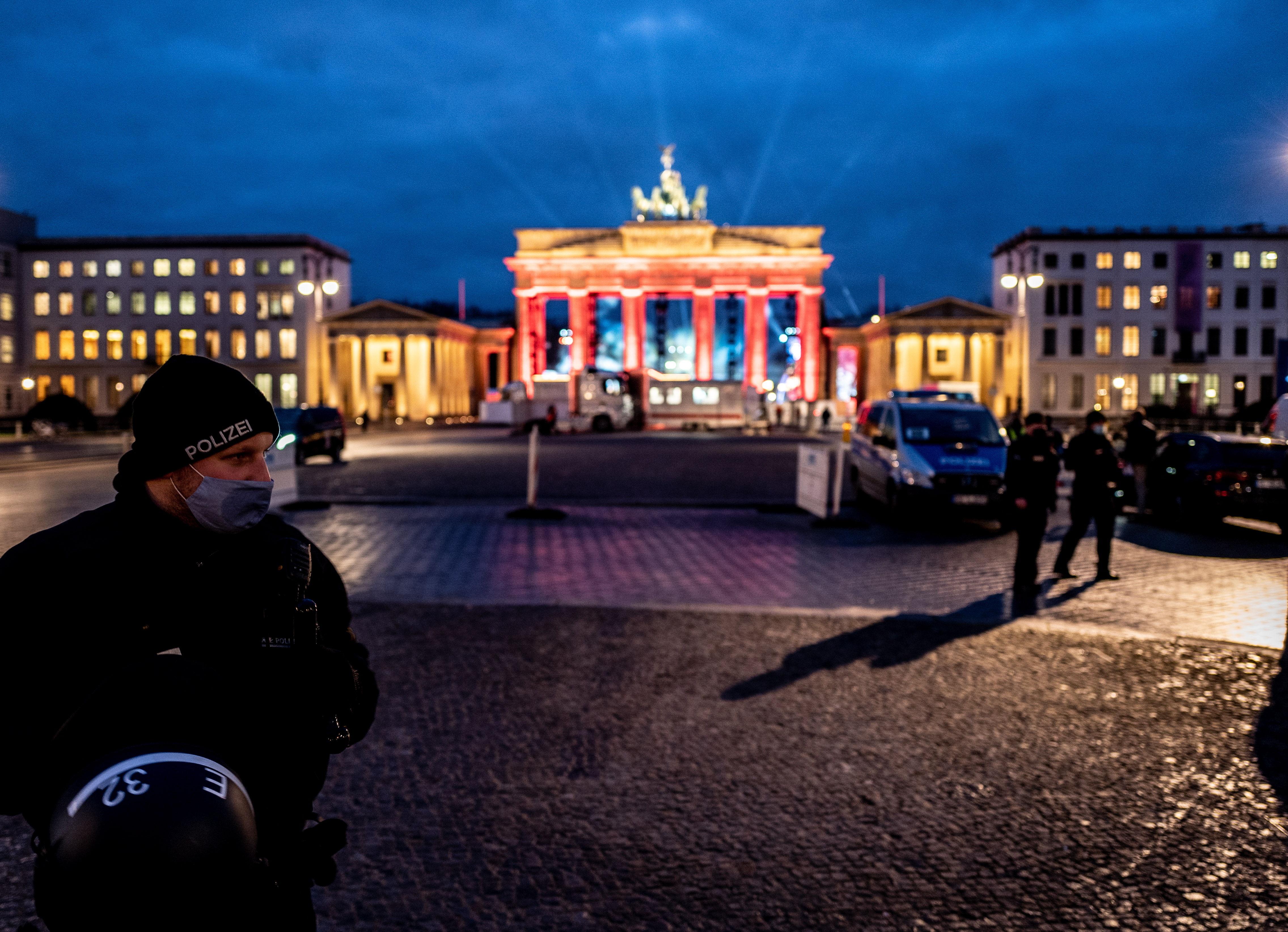 Medidas se seguridad para Nochevieja en Berlín.