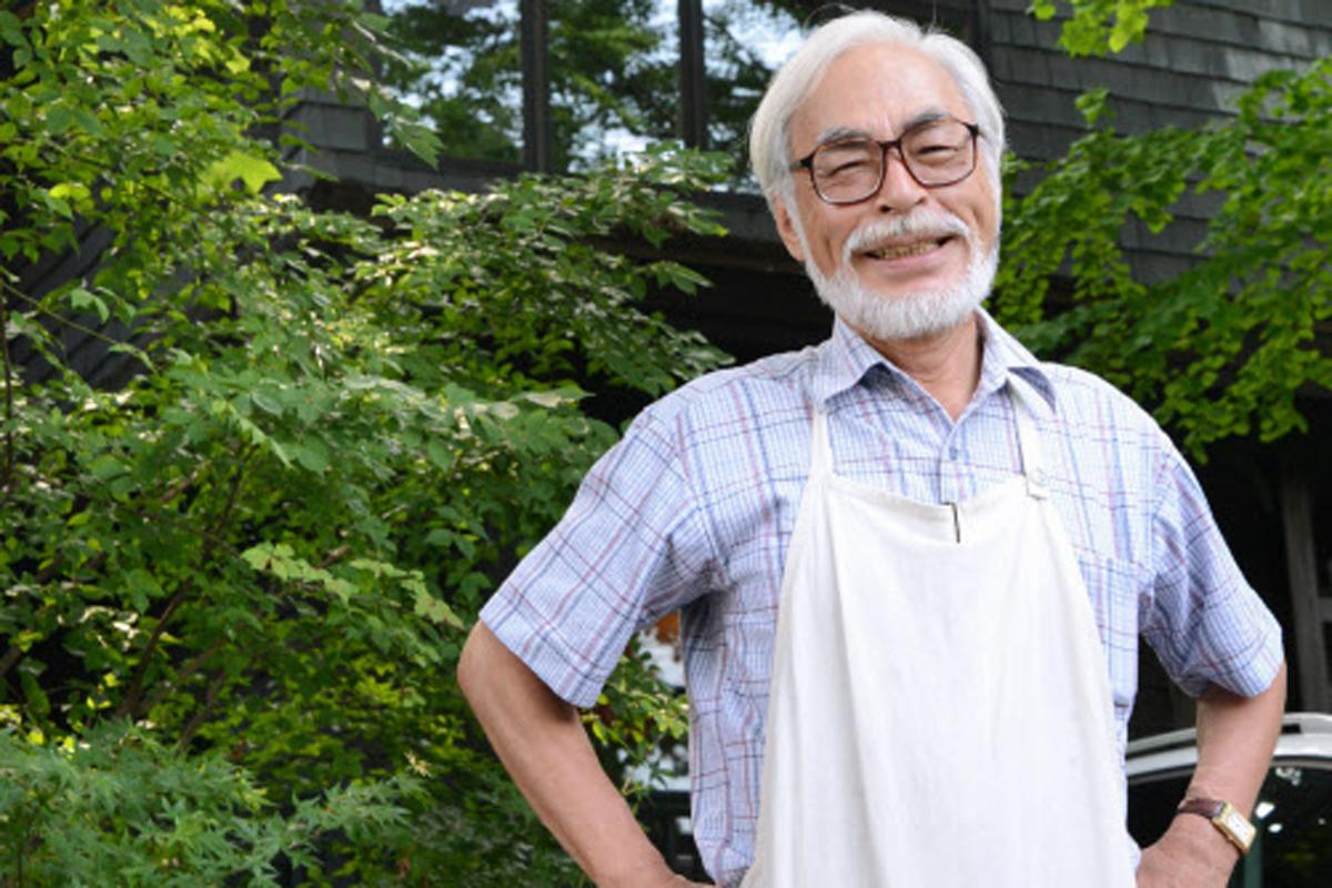 El director japonés Hayao Miyazaki.