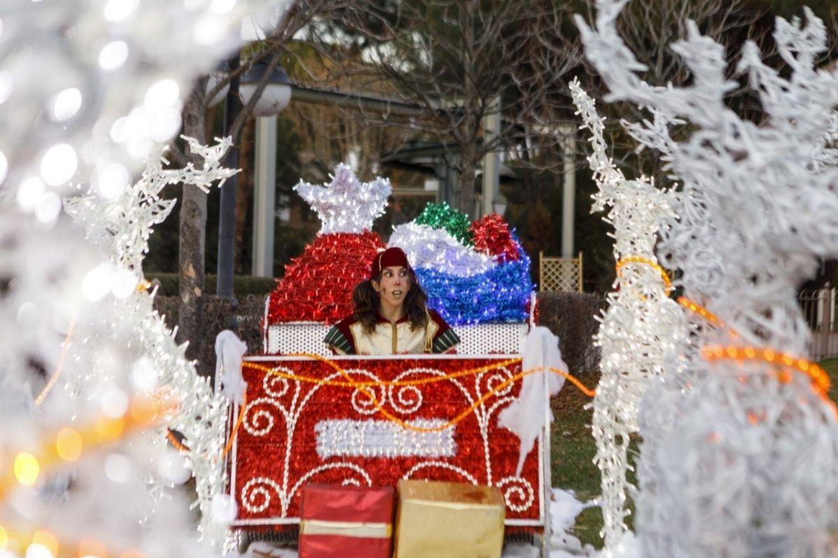 Navidad en el Parque de Atracciones de Madrid.