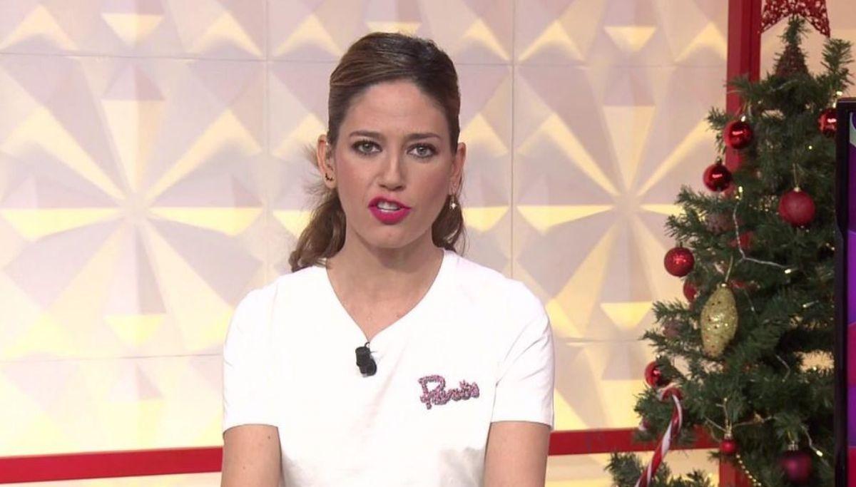 Socialité: Nuria Marín enseña sus bragas en directo con la cara de Isabel Pantoja