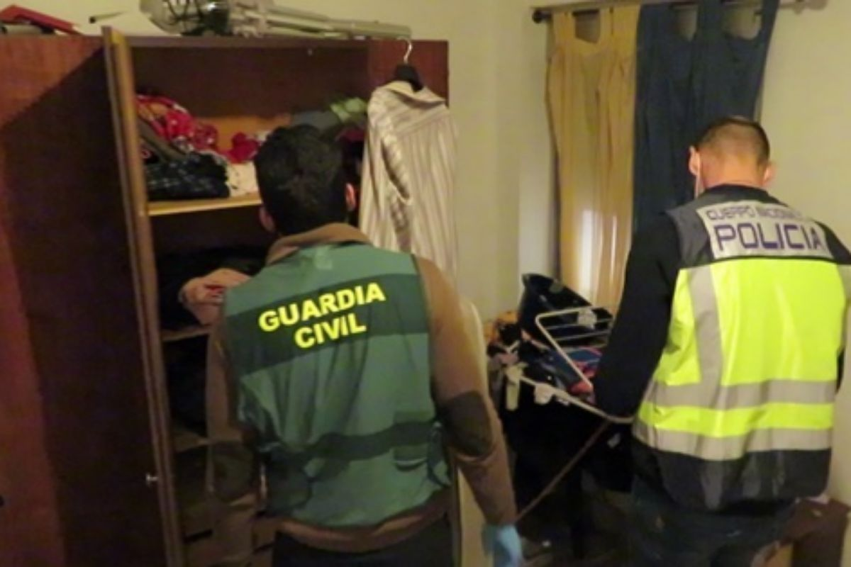 Operación conjunta de Policía Nacional y Guardia Civil de Castellón.