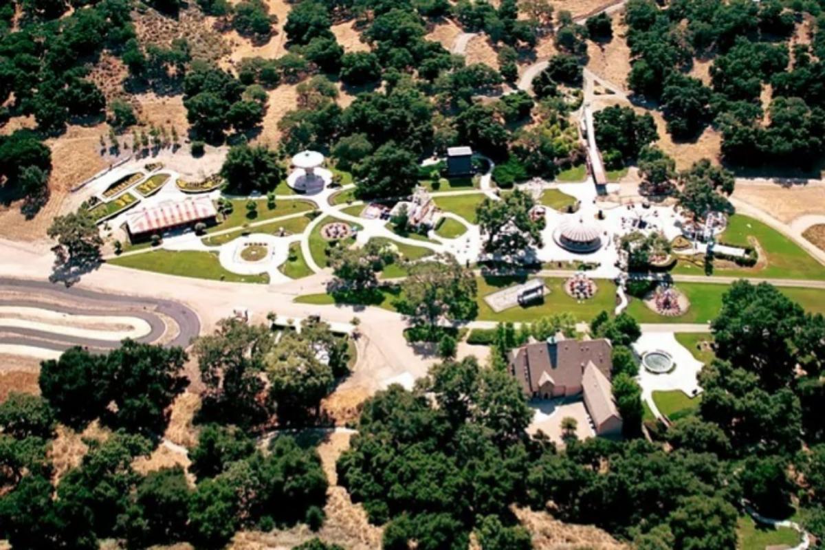 Imagen aérea de Neverland
