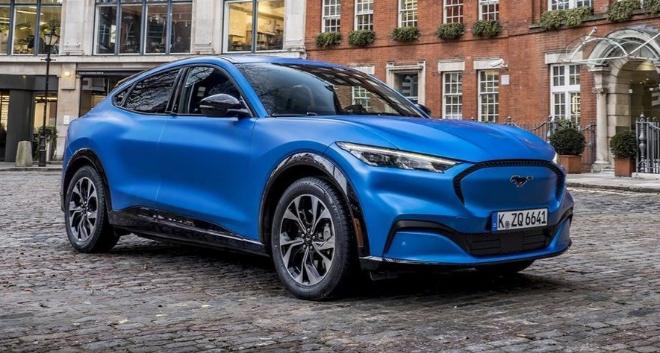 El Ford Mustang Mach-E será uno de los nuevos eléctricos que llegan en 2021