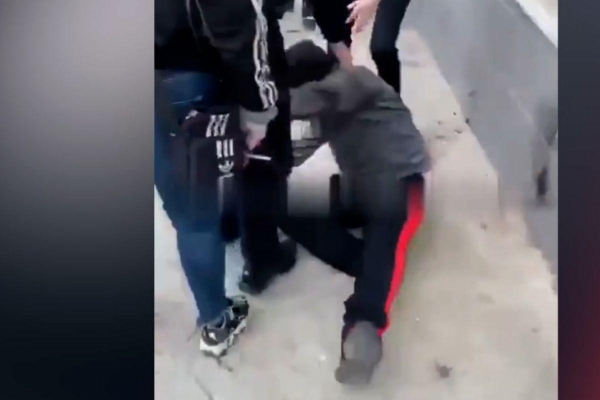 Imagen de la agresión