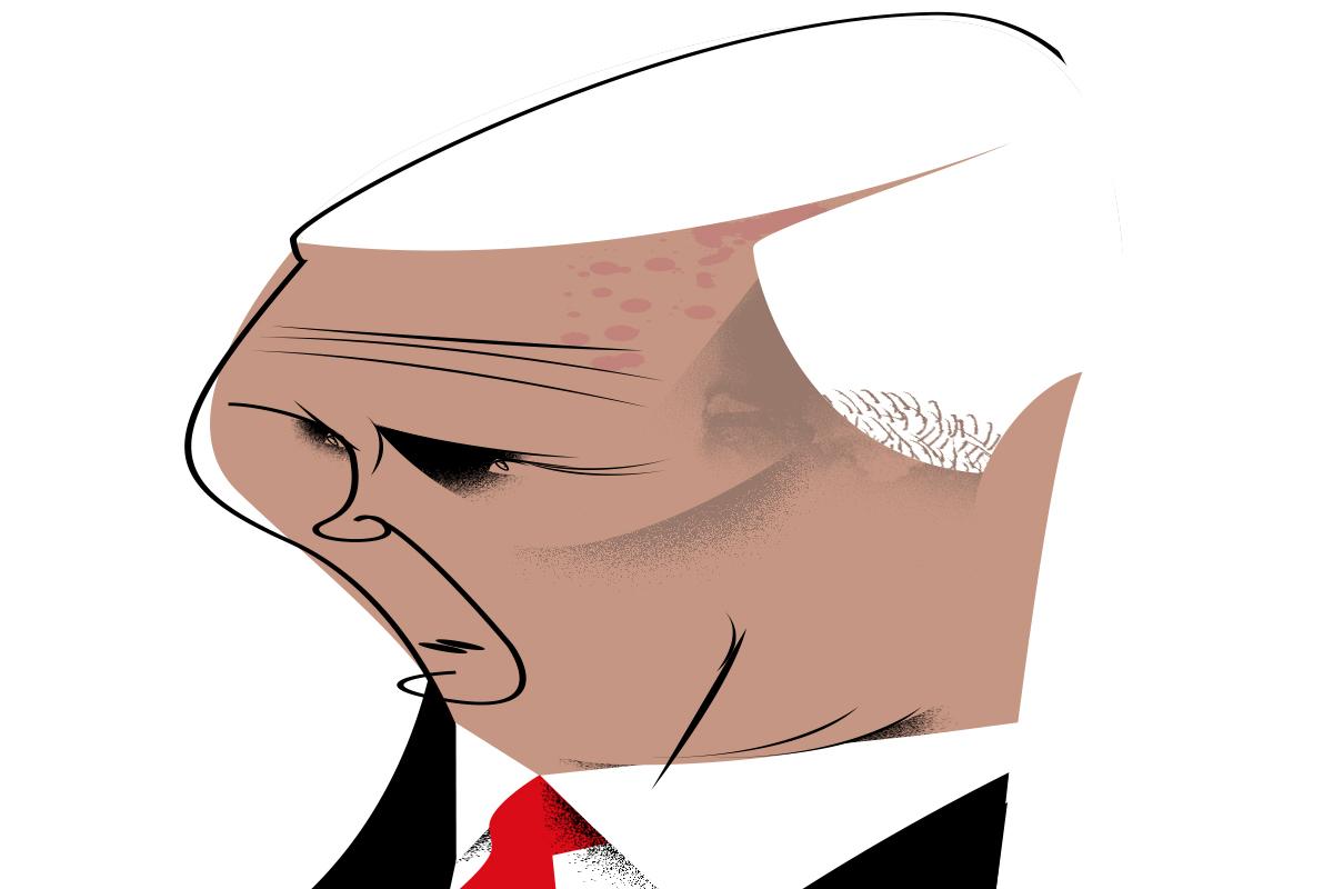 Mike Pence, el timonel que mantiene el rumbo