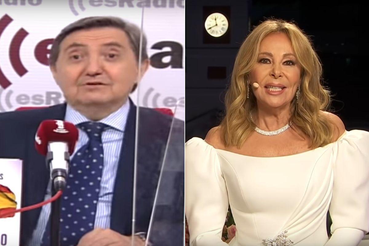 """Las duras críticas de Jiménez Losantos a la participación de Ana Obregón en las Campanadas: """"Me pareció repelente"""""""