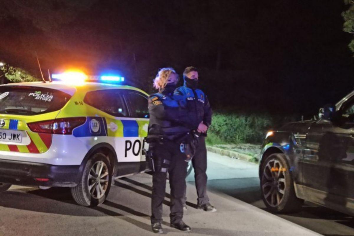 Agentes de la policía local de Sitges