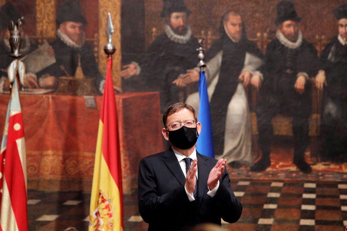 El presidente de la Generalitat, Ximo Puig, en un acto.