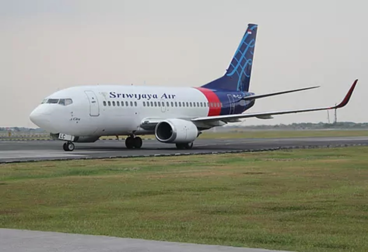 Un avión de la aerolínea Sriwijaya Air.Andika Primasiwi.