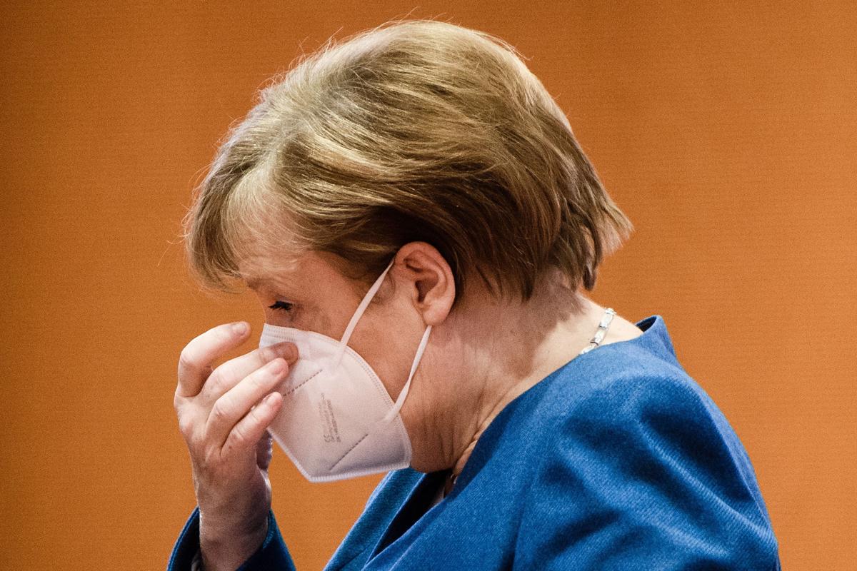 آنگلا مرکل صدراعظم آلمان.