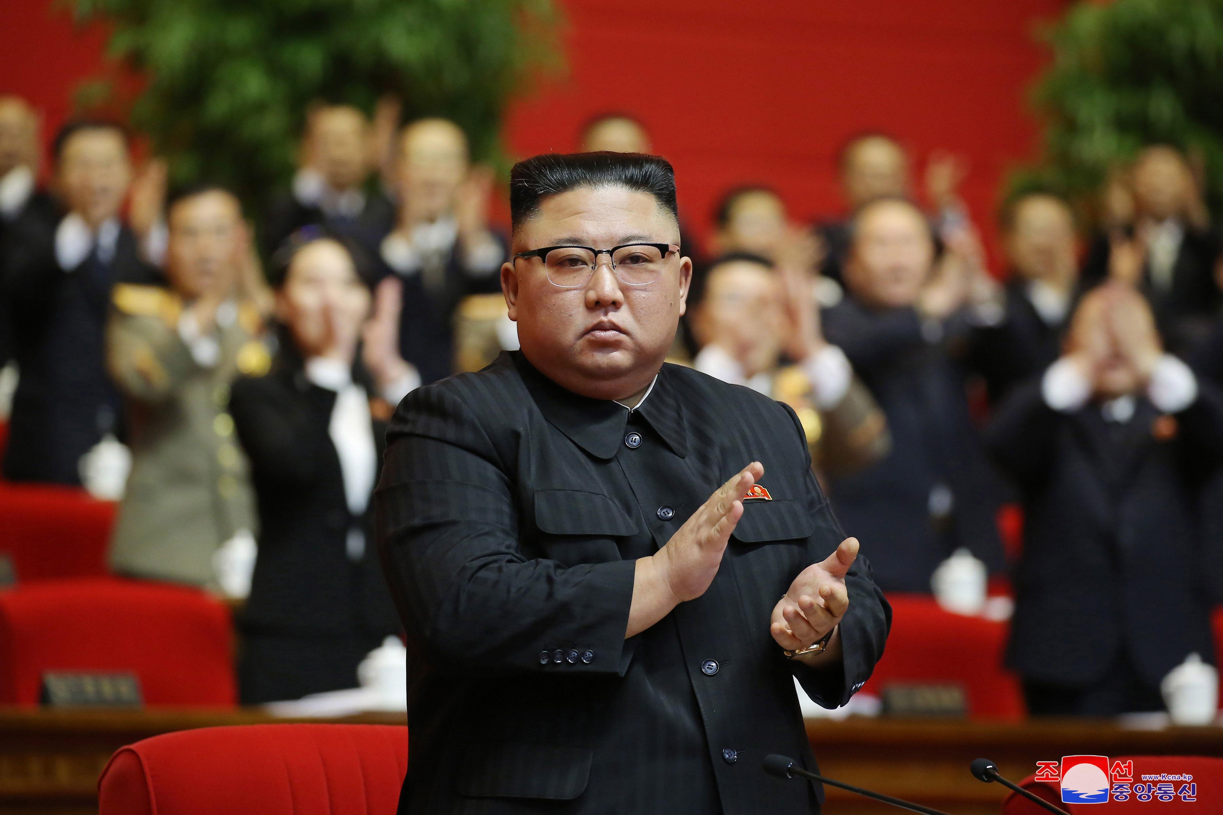 The north Korean leader, Kim JOng-un.