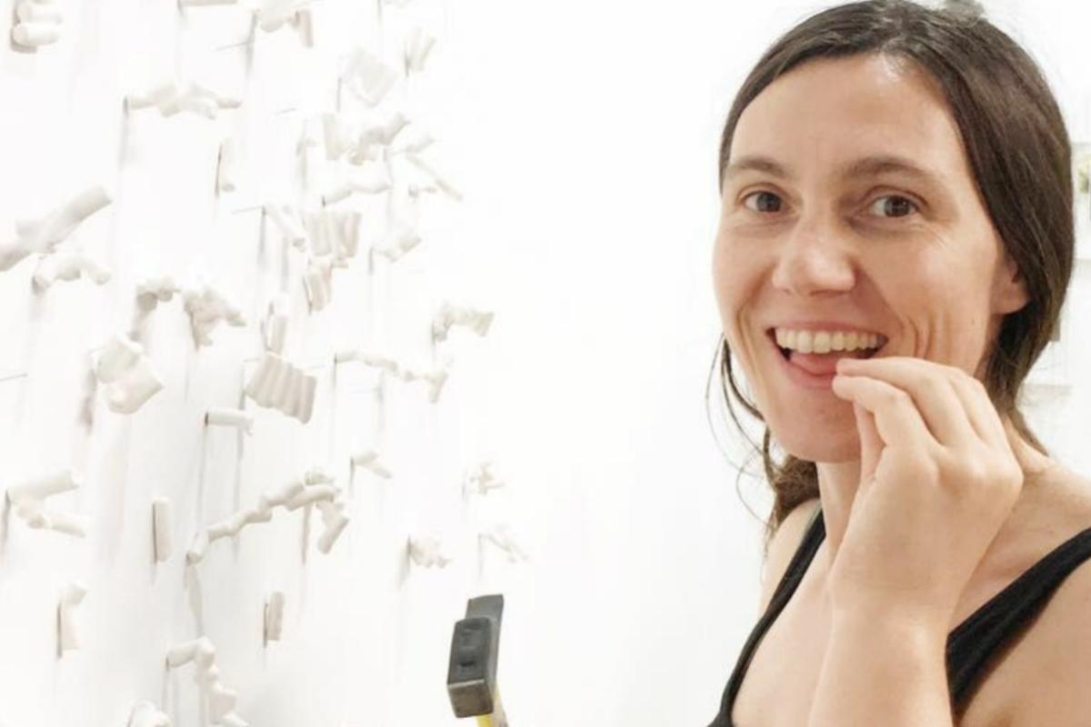 La artista andaluza Valle Galera.
