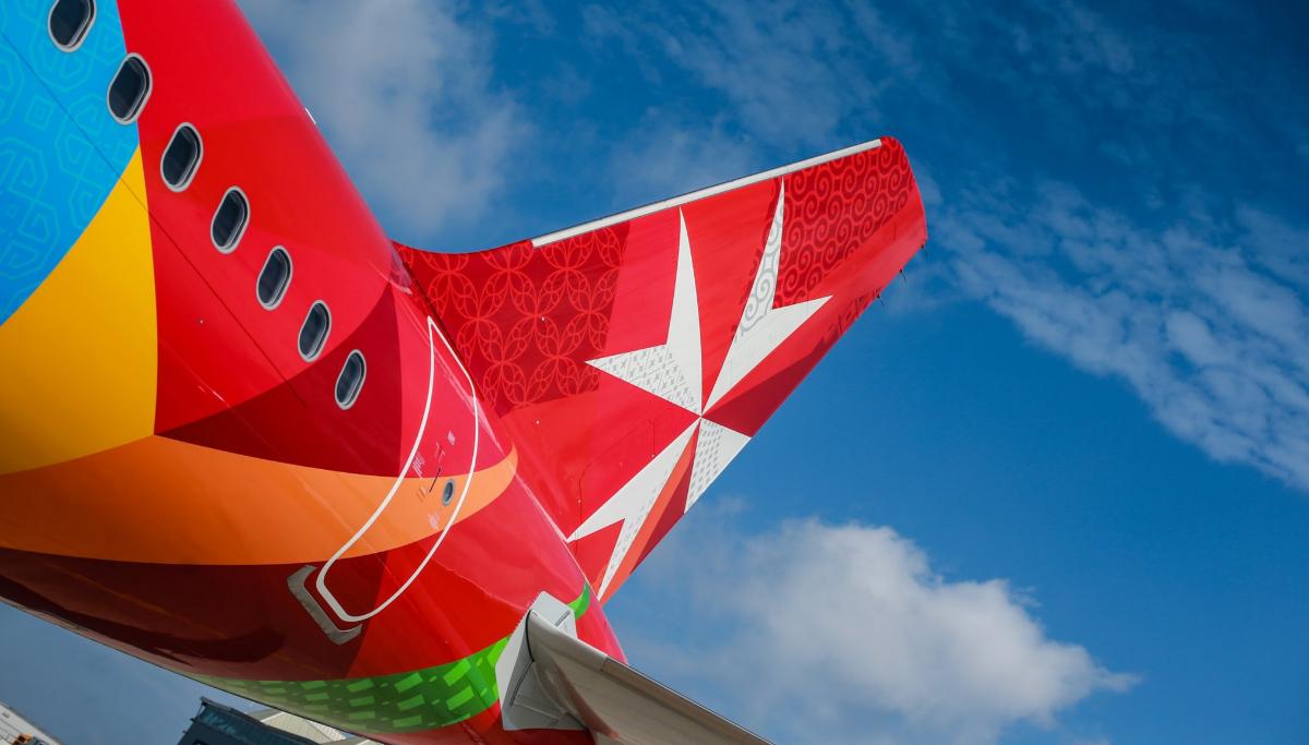 Foto de archivo de un avión de la compañía Air Malta.