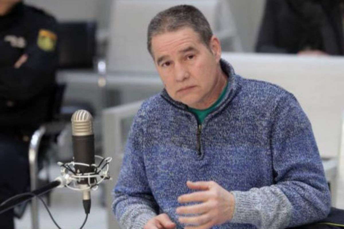 Antonio Trotiño, durante una declaración en la Audiencia Nacional.