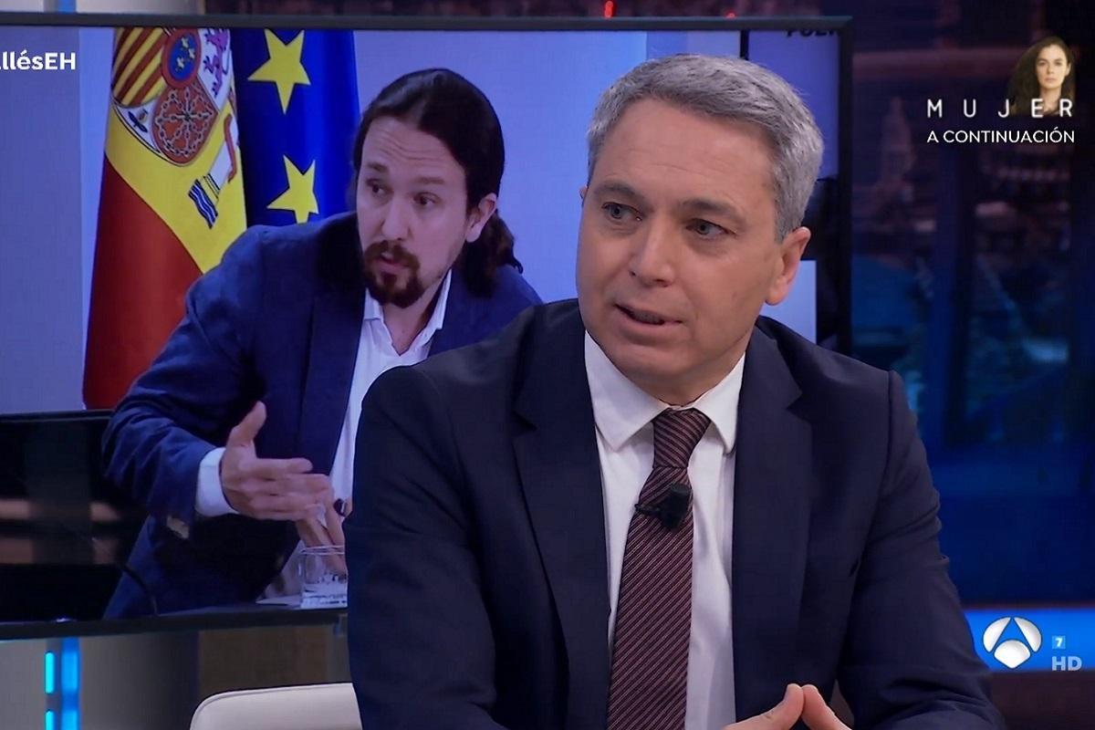 La comentada pregunta de Pablo Motos a Vicente Vallés en El Hormiguero.