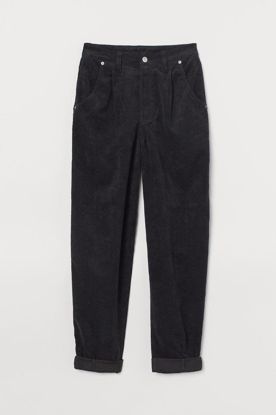 H&M - Los pantalones más chic (y calentitos) son de pana