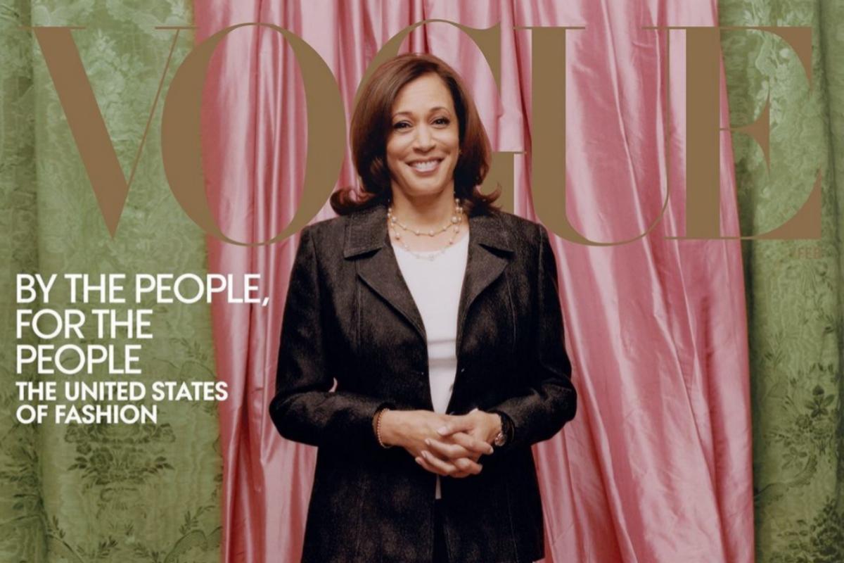 La vicepresidenta electa de EEUU en la portada de 'Vogue'
