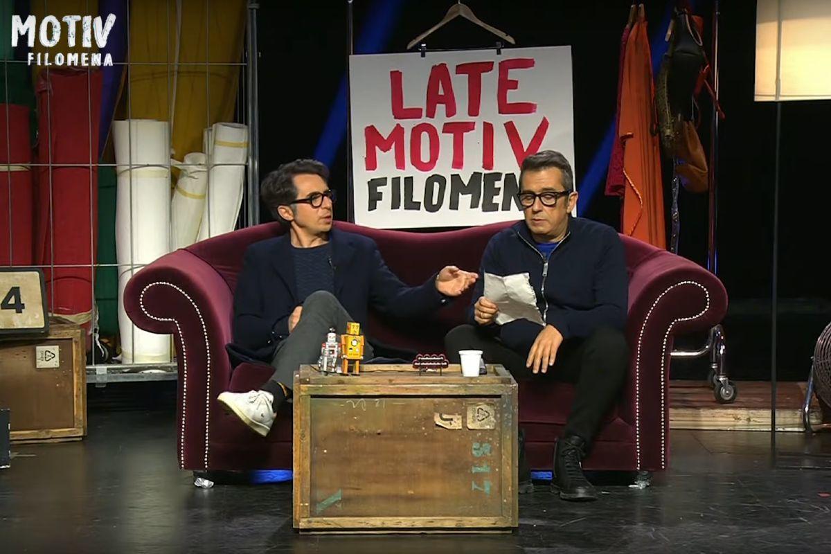 Late Motiv Filomena: así fue el programa emitido desde el mítico plató donde se grababa Buenafuente