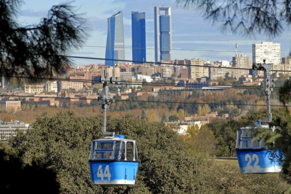 El Teleférico de Madrid.