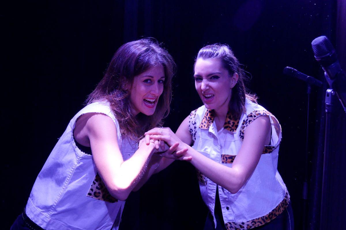 Las protagonistas de 'Thelma & Luisa (Morir de amor)'.