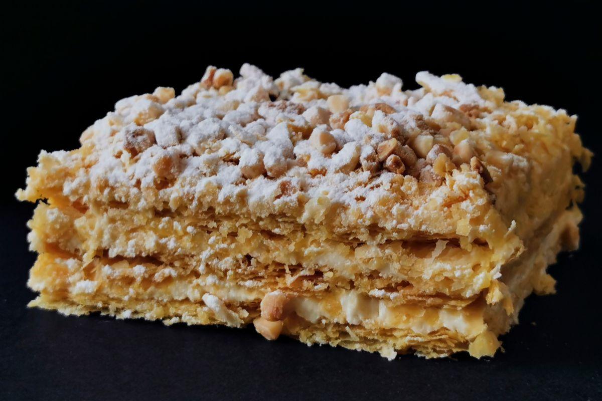 Las famosas milhojas de mantequilla de Estela Hojaldre.