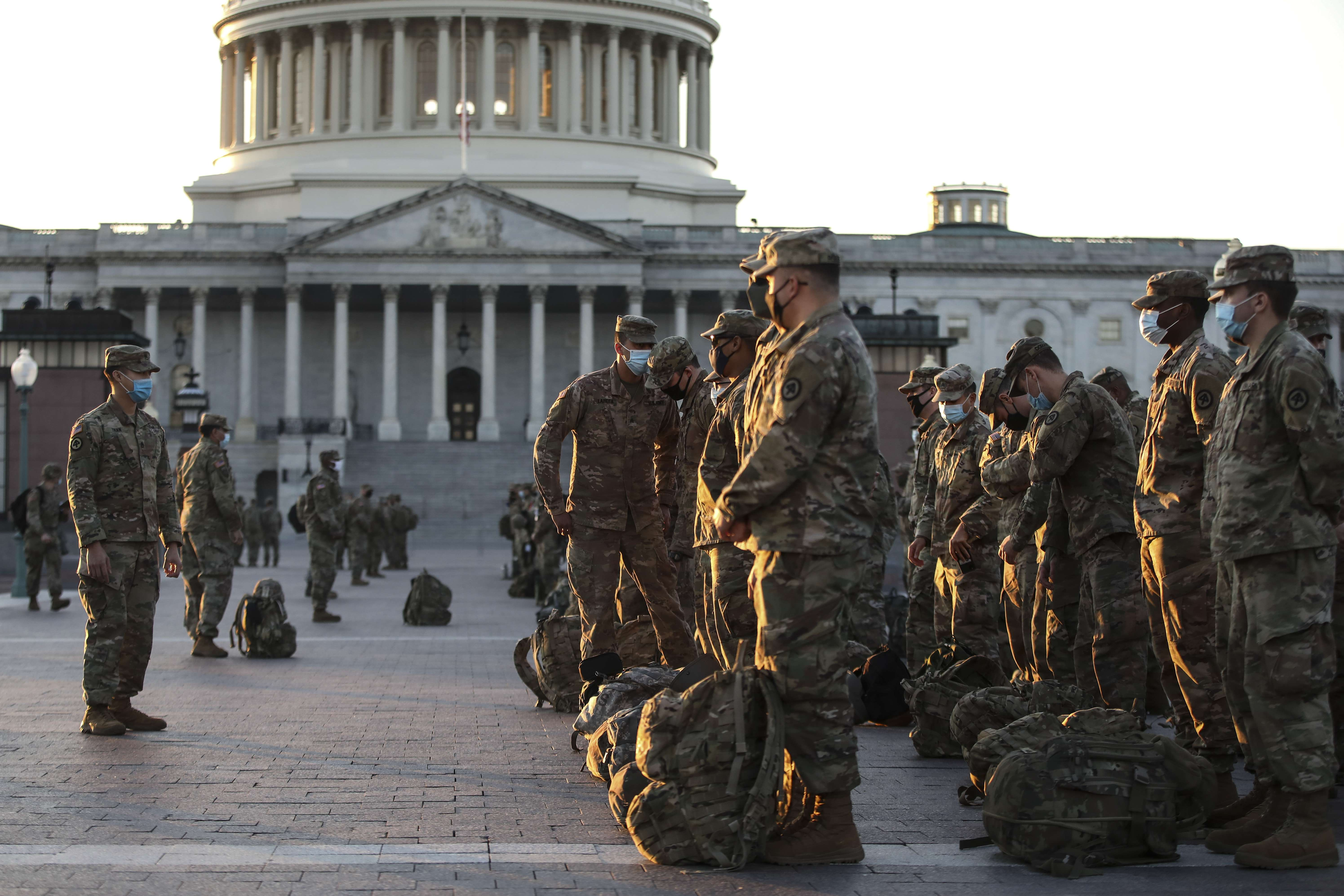 Washington prepares for possible alterations during the presidential inauguration on January 20.