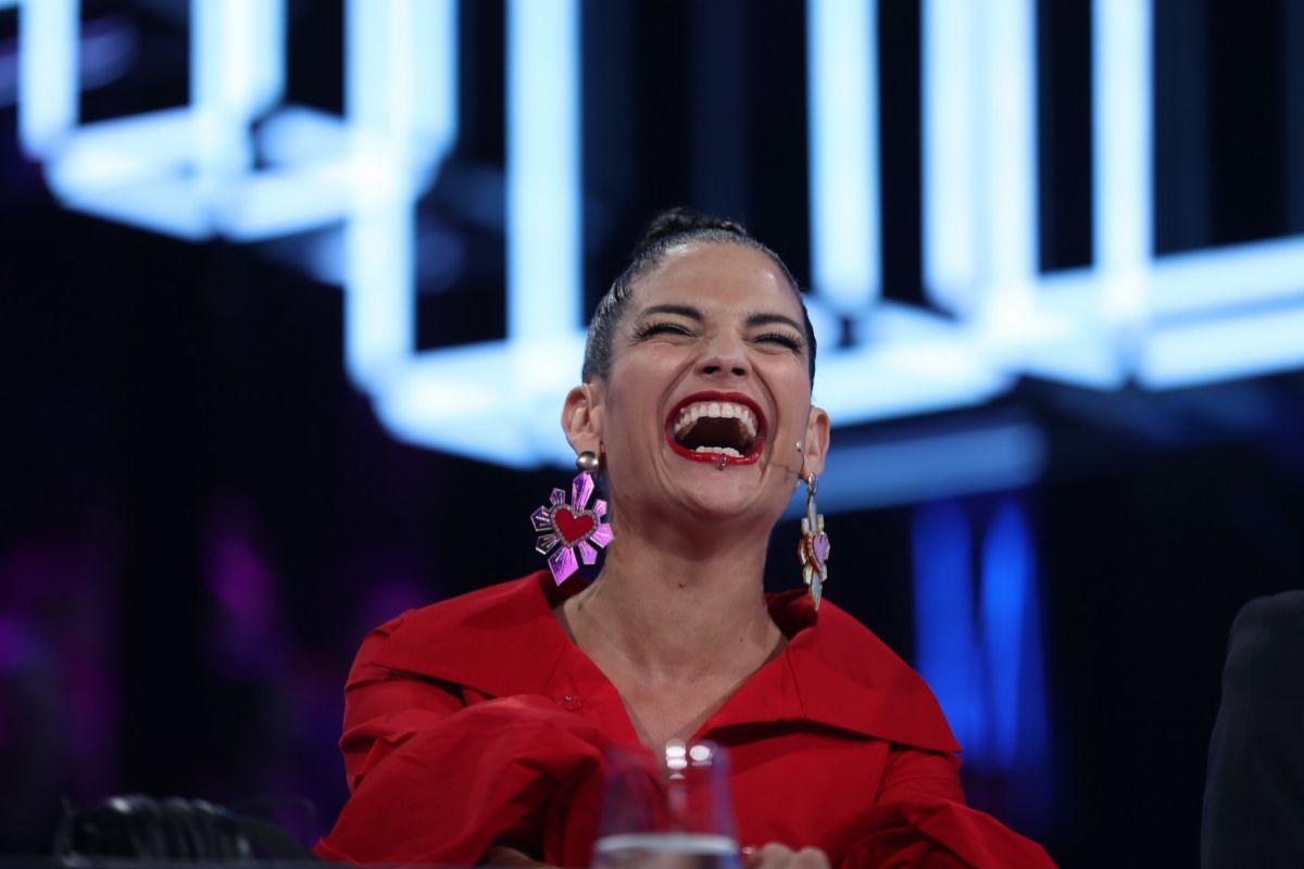 Natalia Jiménez durante su paso por el programa 'Operación Triunfo'