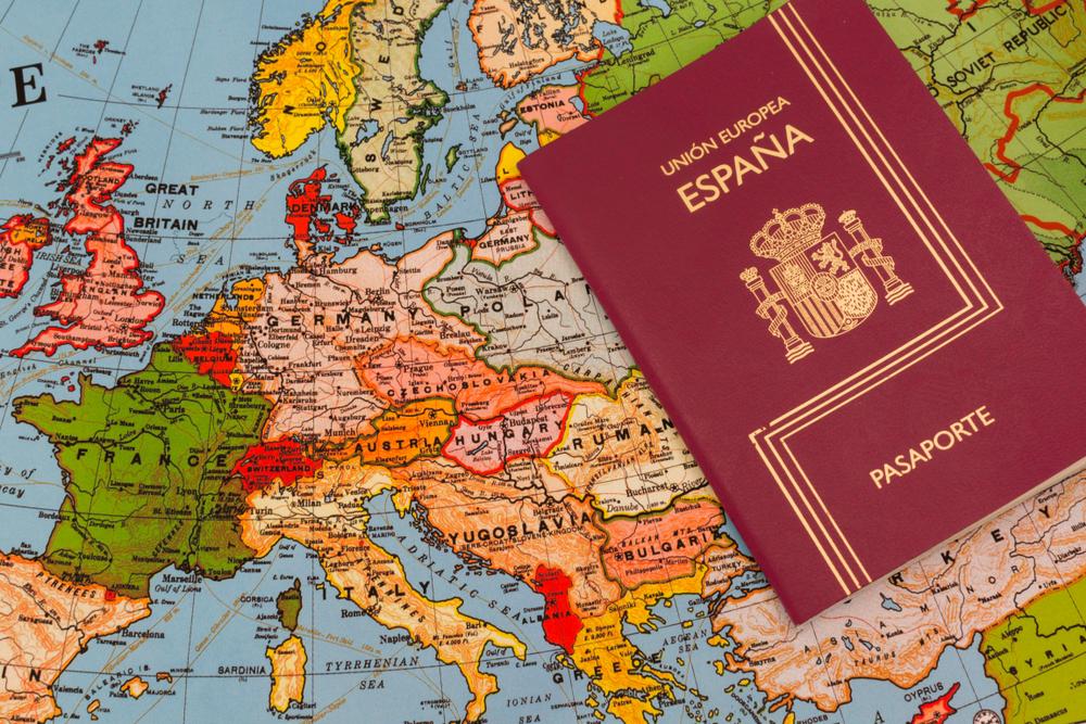 Con el pasaporte español se puede viajar a 188 países sin visado.
