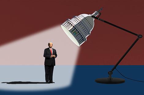 Todo listo para el segundo 'impeachment' de Donald Trump, mientras el Partido Republicano da libertad de voto a sus legisladores